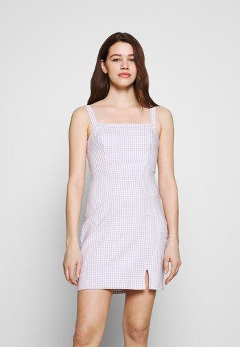 BARE STRUCTURED DRESS - Vestido informal - lavender