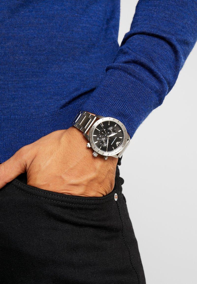 Emporio Armani - Chronograph watch - silver