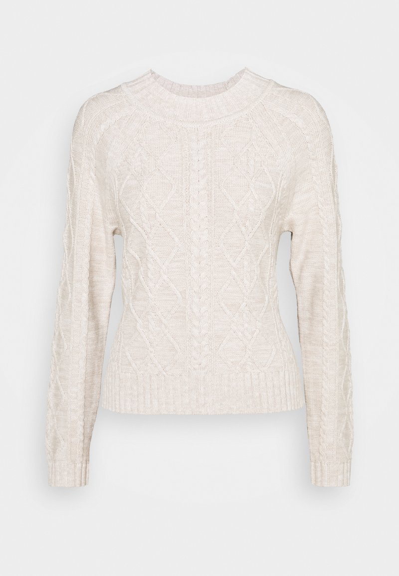 GAP - CABLE CREW - Jumper - marled oatmeal heather