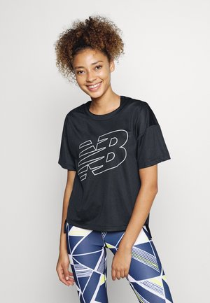 ACHIEVER GRAPHIC - T-shirt med print - eclipse