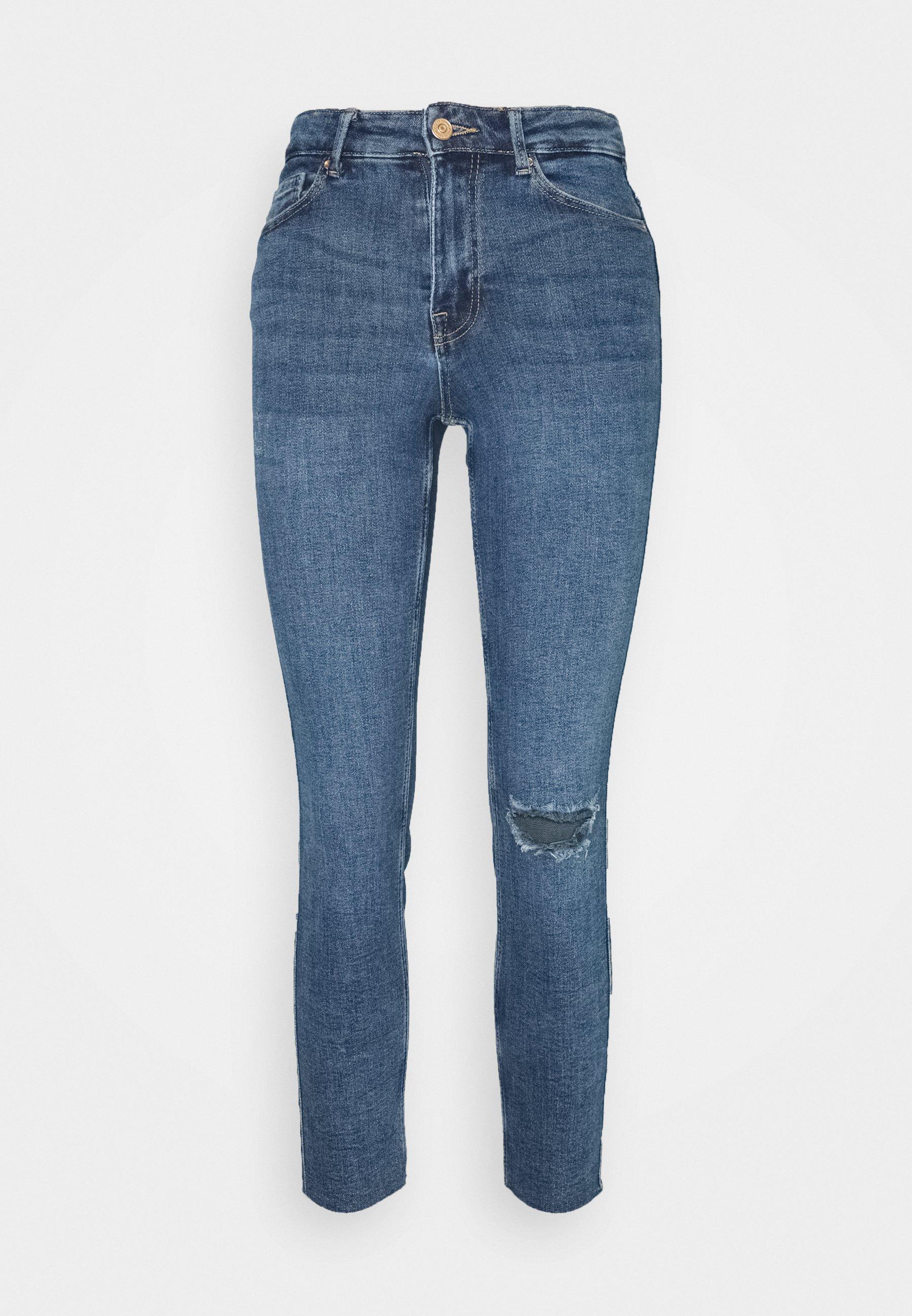 Women PCLILI  - Slim fit jeans - medium blue