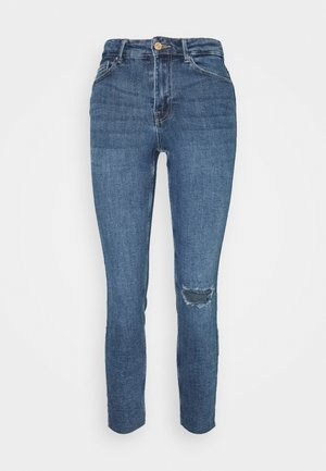 PCLILI  - Slim fit jeans - medium blue