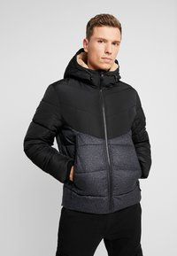 TOM TAILOR DENIM - HEAVY PUFFER JACKET - Winter jacket - grey - 3