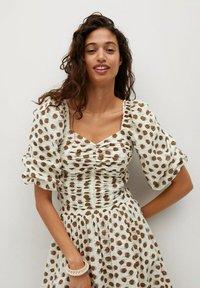 Mango - A-line skirt - offwhite - 5