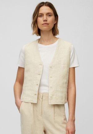 Waistcoat - summer taupe