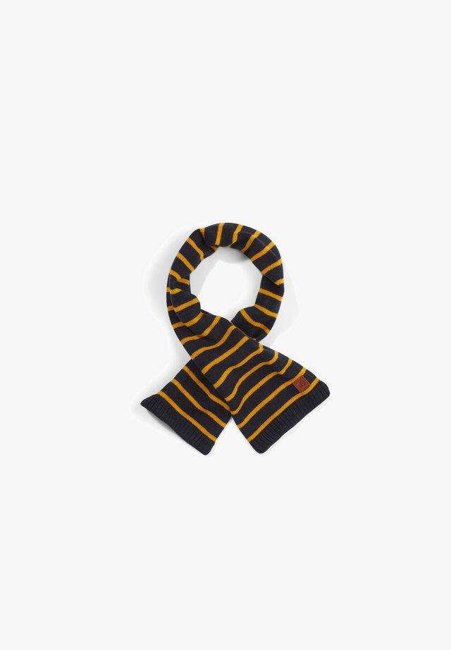 Scarf - yellow stripes