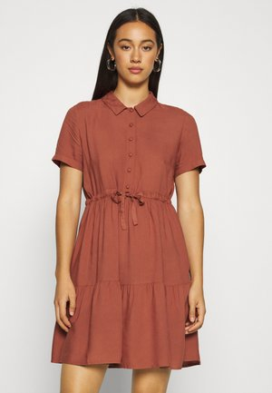 VMDOLCA SHORT DRESS - Shirt dress - marsala