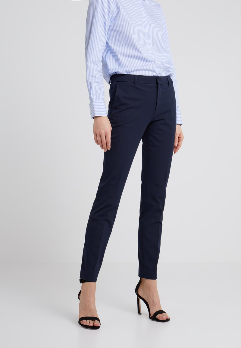 Filippa K - SOPHIA STRETCH TROUSERS - Trousers - navy