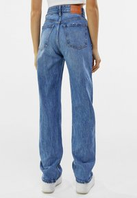 Bershka - Straight leg jeans - dark blue - 2