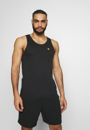 DARTMOOR VEST - Sports shirt - true black