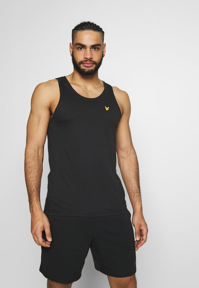 DARTMOOR VEST - T-shirt sportiva - true black