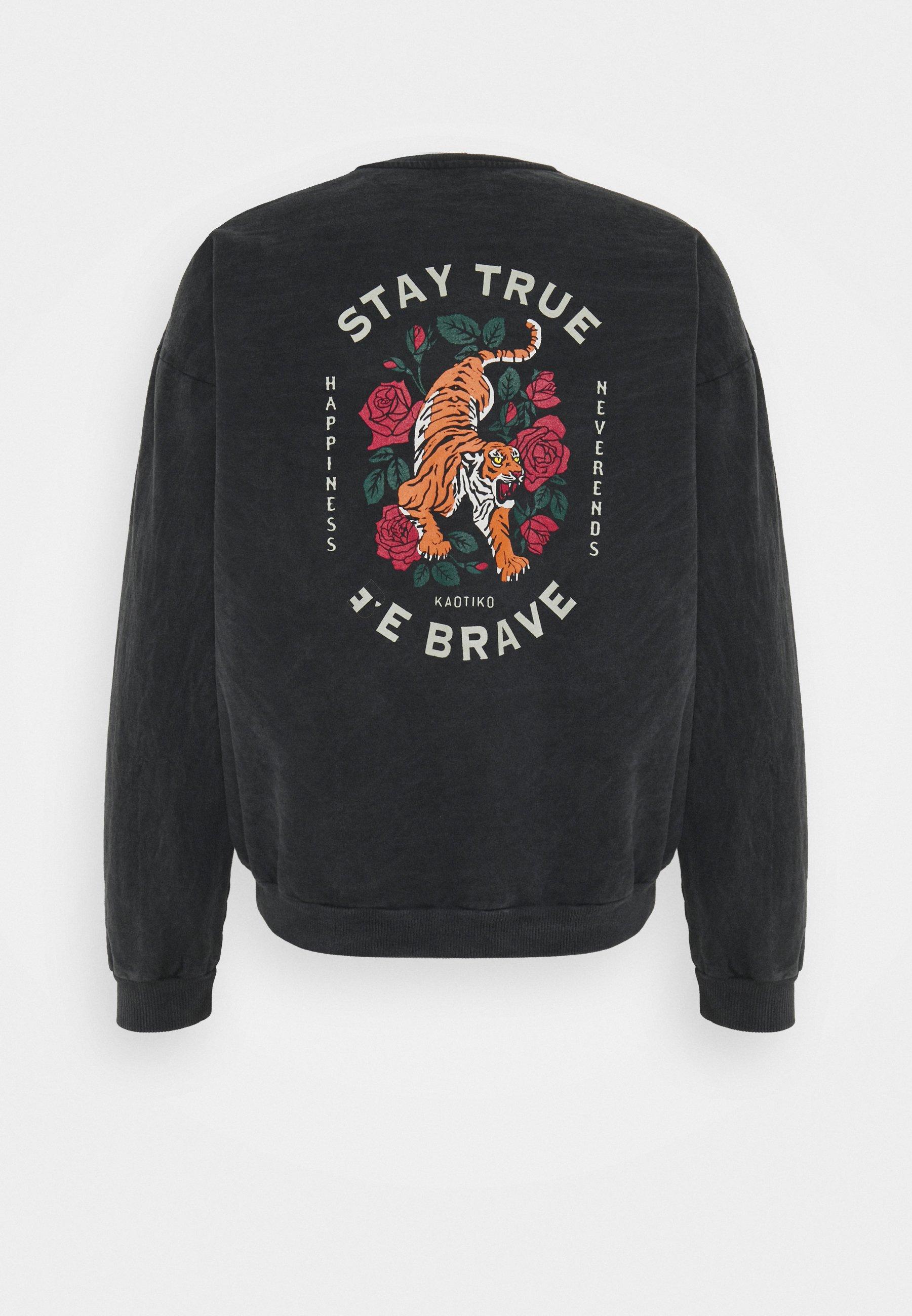 Women CREW STAY TRUE WASHED - Sweatshirt