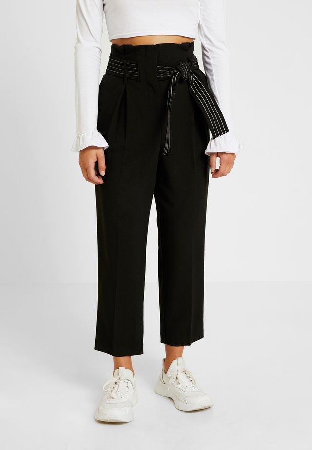 TERRI - Pantalones - black