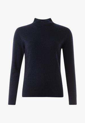 ALEX - Stickad tröja - navy