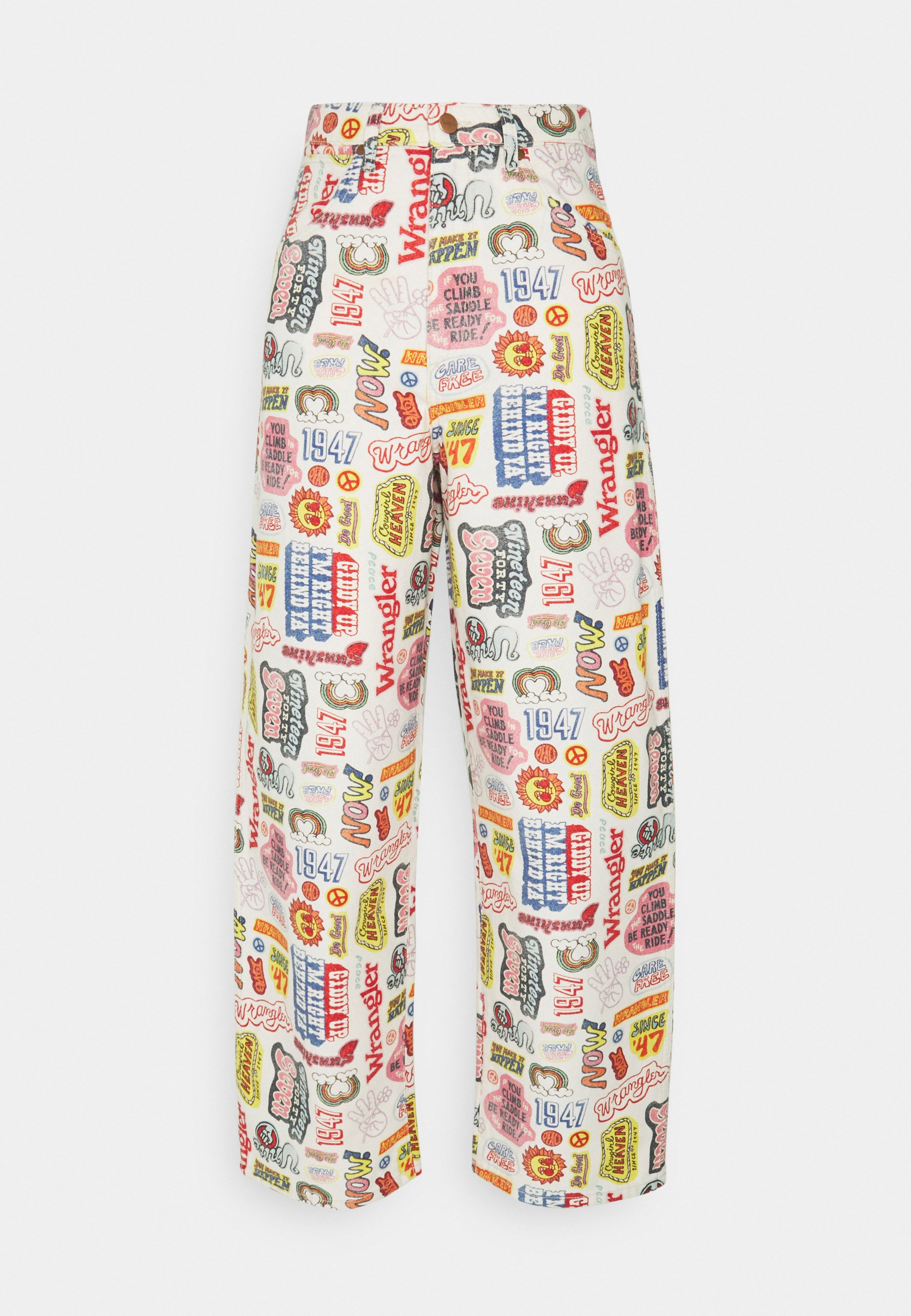Women WIDE BARREL - Relaxed fit jeans
