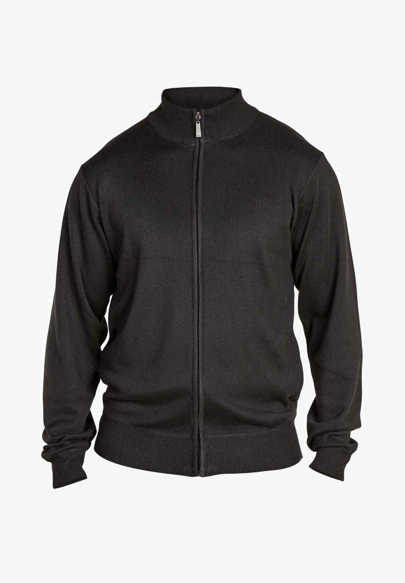 BadRhino - Zip-up hoodie - black