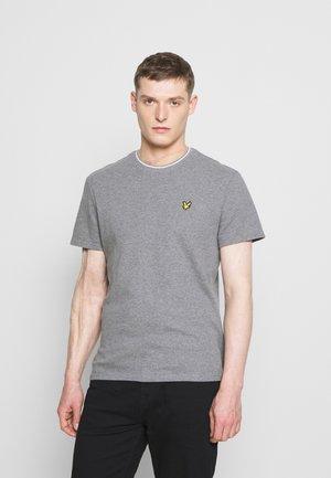 WAFFLE - T-shirt basic - mid grey marl