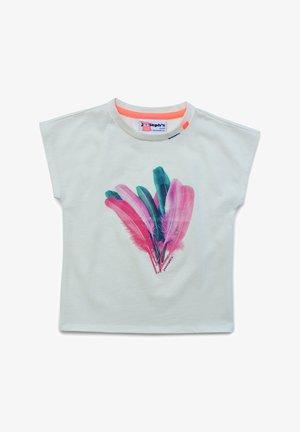 T-shirt print - marshmallow