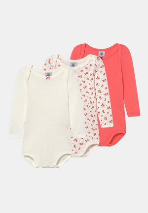 3 PACK - Body - coral/white