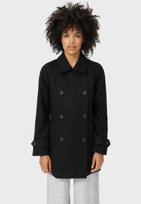 Stradivarius - Short coat - black - 0