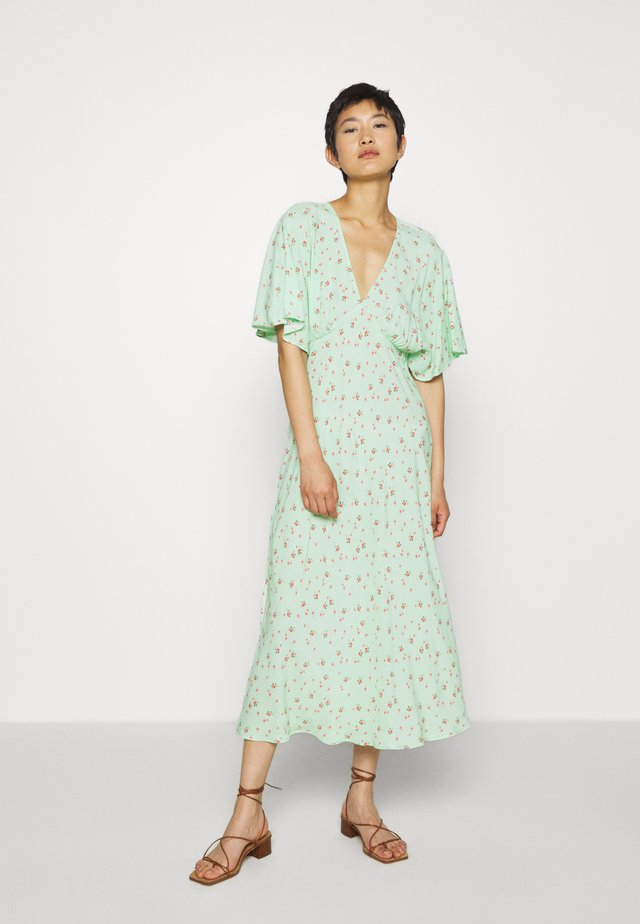 TESSIE DRESS - Korte jurk - light green