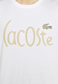 Lacoste - Print T-shirt - blanc - 4