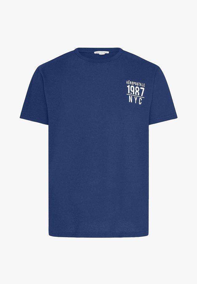 T-shirt con stampa - royal blue