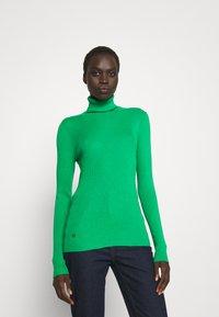 Lauren Ralph Lauren - TURTLE NECK - Neule - vivid emerald - 0