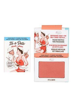 IT'S A DATE BLUSH - Rouge - shimmering peach