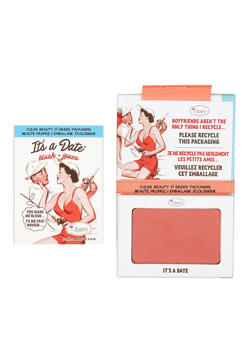 the Balm - IT'S A DATE BLUSH - Blush - shimmering peach