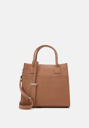 LEATHER - Handbag - tan
