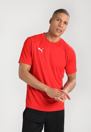 LIGA  - Camiseta de deporte - red/white