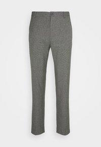 MOULINE GRID TAPERED PANTS - Kalhoty - khaki