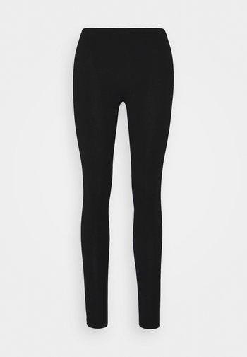2PP JERSEY LEGGING - Leggings - Stockings - black