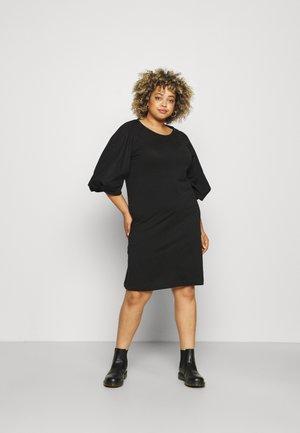 SLFFOKA KNEE DRESS CURVE - Day dress - black