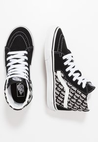 Vans - SK8 UNISEX - Sneaker high - black/true white - 0