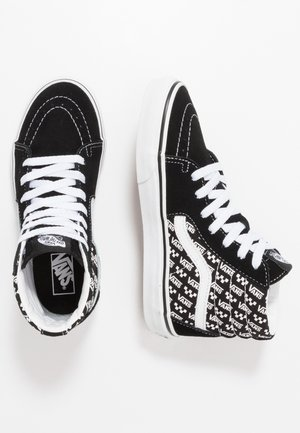 SK8 UNISEX - High-top trainers - black/true white