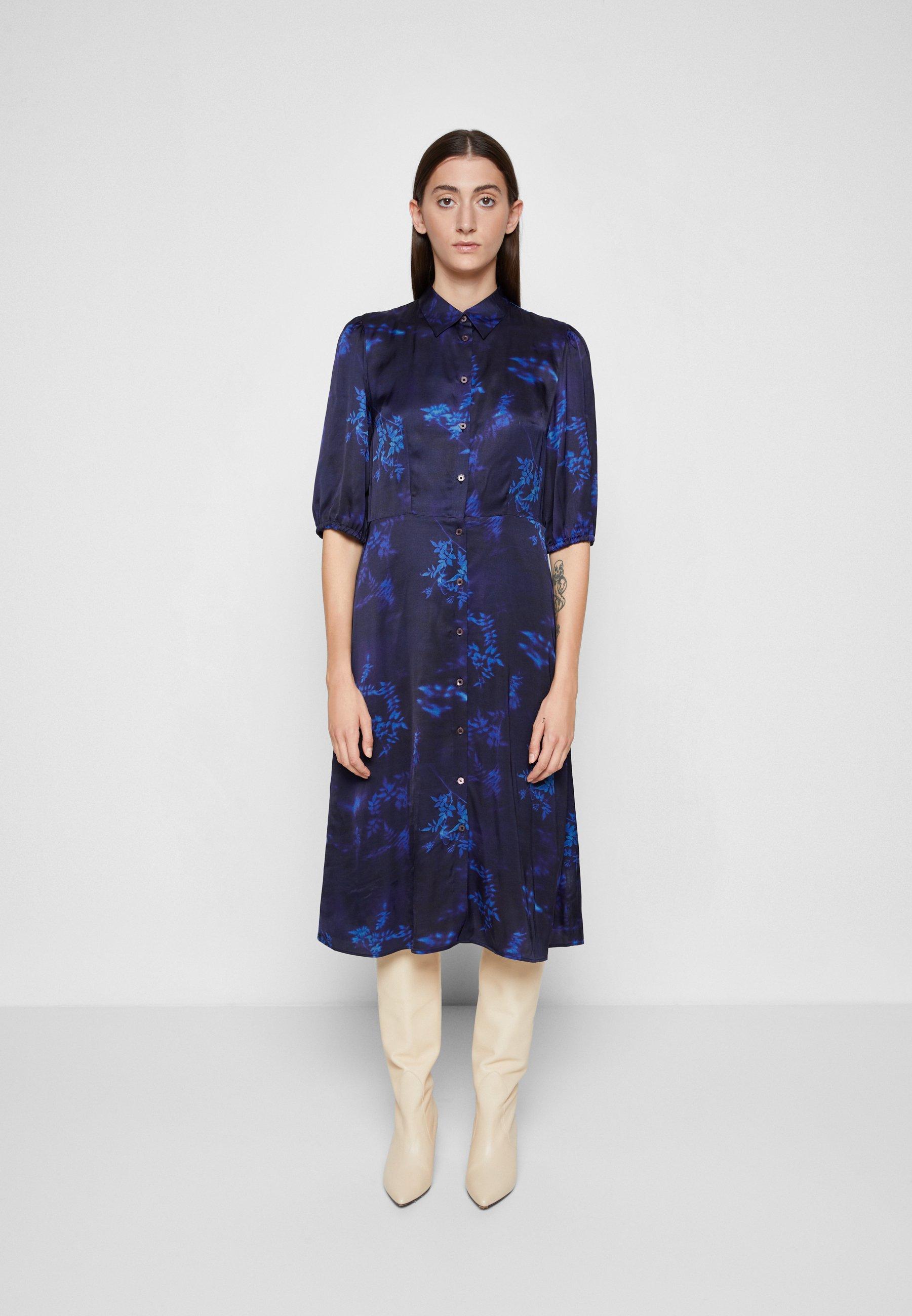Women DRESS 2-IN-1 - Shirt dress