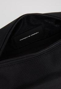 Porsche Design - ROADSTER WASHBAG - Wash bag - black - 5