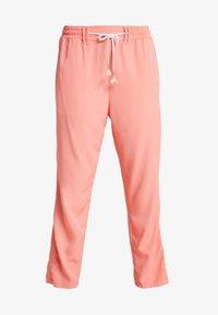 Luhta - HANDBY - Trousers - pink - 3