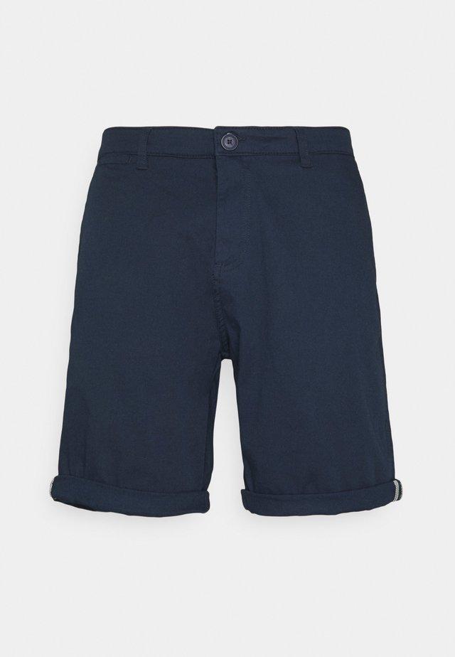 POVL CHINO - Shorts - insignia blue