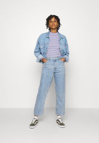 Monki - KYO - Jeans straight leg - blue medium dusty - 1