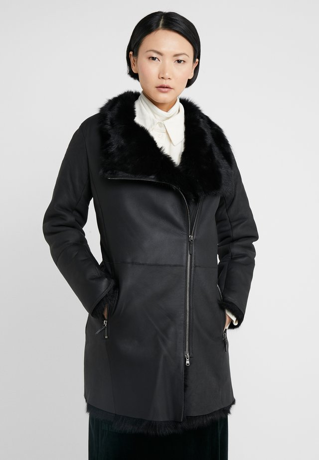 CLASSIC COAT - Kappa / rock - toscana black