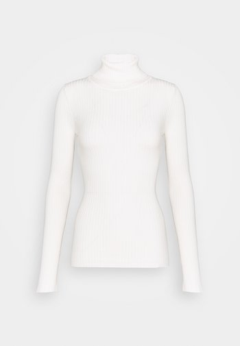 BASIC- RIBBED TURTLE NECK