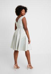 Swing Curve - Vestito elegante - whitegreen - 3