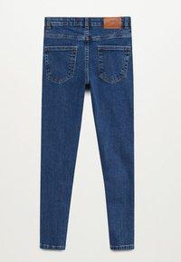 Mango - SKINNY - Jeans Skinny Fit - blu scuro - 1