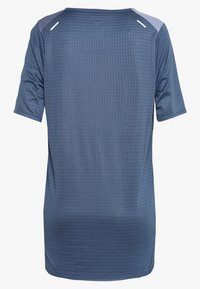 Nike Performance - RISE HYBRID  - Print T-shirt - diffused blue/silver - 1