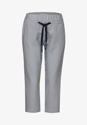 SEERSUCKER - Trousers - blau