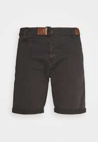 INDICODE JEANS - CONER - Shorts - raven - 0