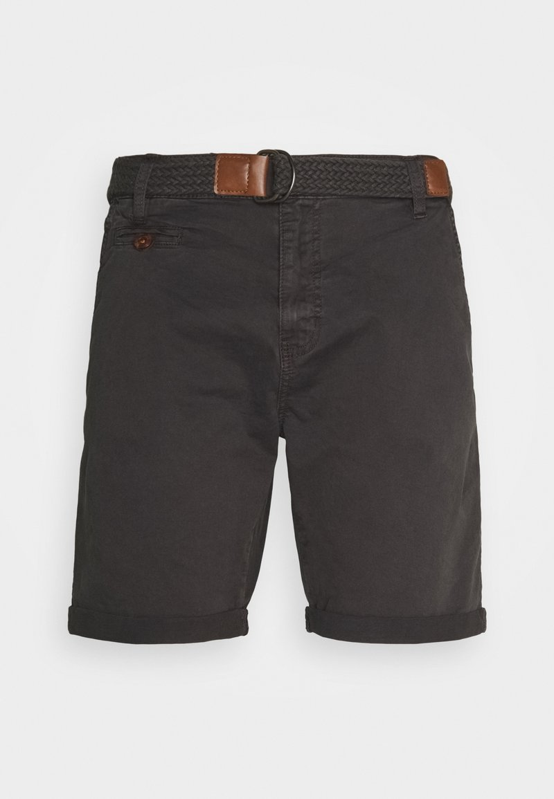 INDICODE JEANS - CONER - Shorts - raven